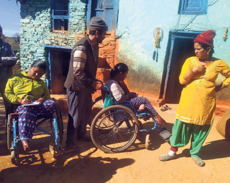 All four children of a family become crippled after turning seven
