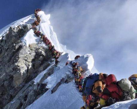 Panel suggests govt stop inexperienced from climbing Everest