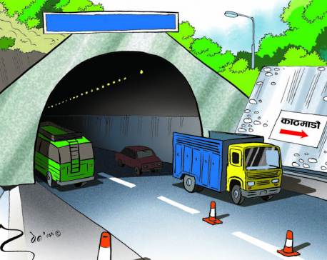 Two-thirds of budget of Kathmandu Tarai Expressway unspent