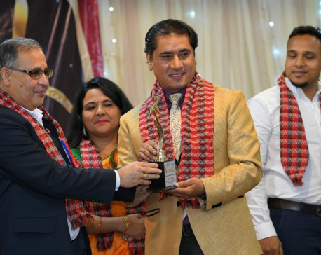 Rojin Shakya bags Outstanding International Choreographer award