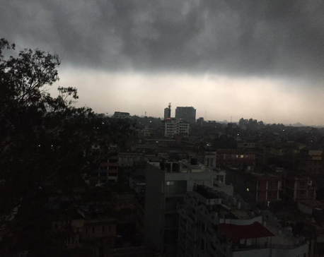 Low pressure system in west prompts cloudy weather