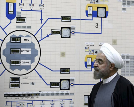Iran sends letters on partial withdrawal from nuclear deal