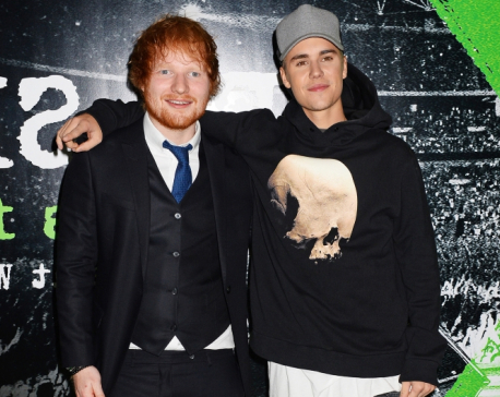 Ed Sheeran, Justin Bieber team up for new single
