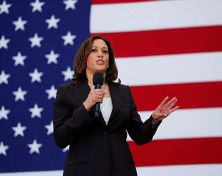 U.S. presidential hopeful Harris unveils plan to protect abortion rights