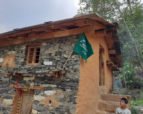 For or against child marriage? Green flag tells it all in Baitadi