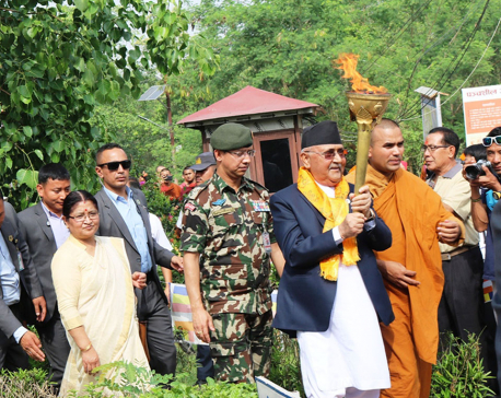 PM vows to revive UN committee on Lumbini