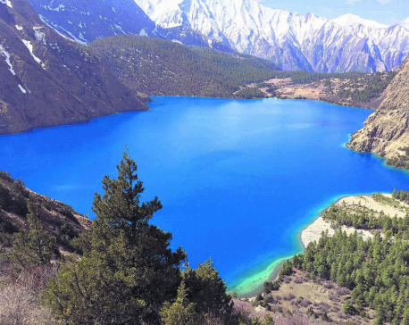 Shey Phoksundo Lake rapidly being polluted by visitor's garbage