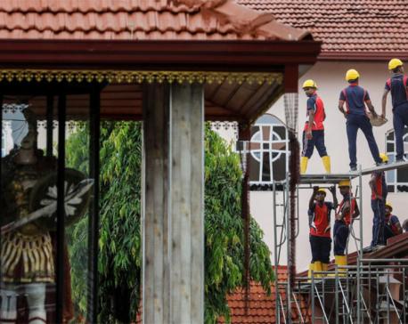 Leave my country alone, Sri Lanka president tells Islamic State