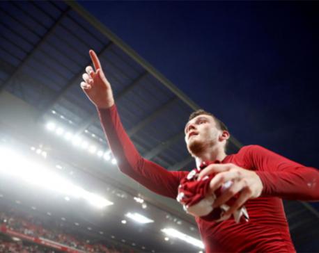 Liverpool will learn from title race heartbreak, says Robertson