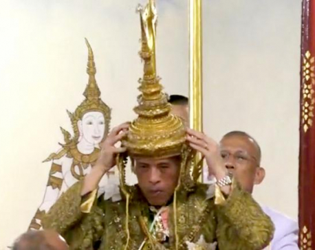 Thailand's king becomes 'living god' in country's first coronation for seven decades