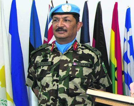 Major General Kharel named acting head of Mission, Force Commander of UNDOF
