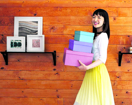 Tidying up the Marie Kondo way