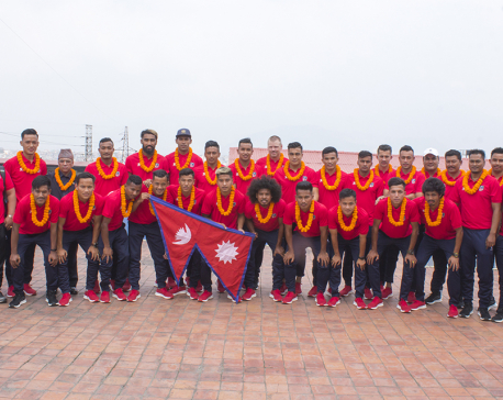 Nepal national football team leaves for Malaysia