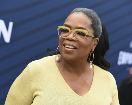 Oprah Winfrey gets emotional at Hollywood empowerment event