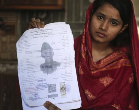 Pakistani Christian girls trafficked to China as brides