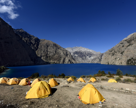 Government team in Dolpa to measure depth of Phoksundo Lake