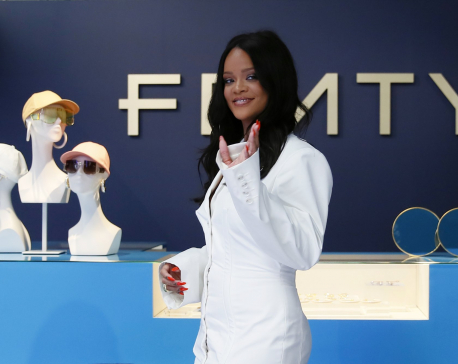 Making history: Rihanna launches brand Fenty in Paris store