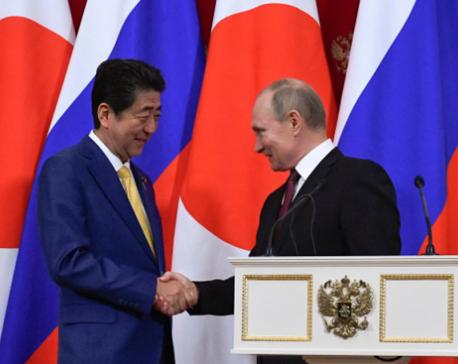 Russia's Putin, Japan's Abe to hold summit meet on June 29