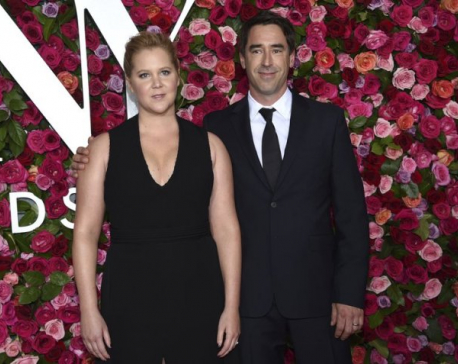 Comedian Amy Schumer welcomes her own 'royal baby'
