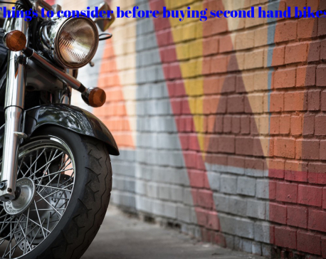 Things to consider before buying second hand bikes