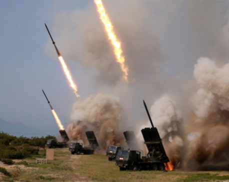 North Korean leader Kim oversaw testing of multiple rocket launchers: KCNA
