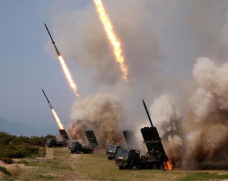 North Korean leader Kim oversaw testing of multiple rocket launchers: KCNA