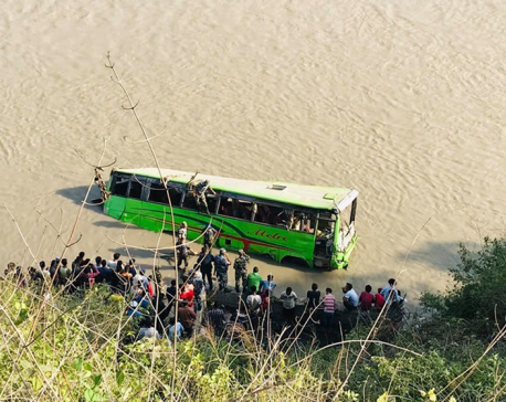 UPDATE: Death toll climbs to six in Trishuli bus plunge