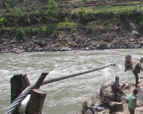 Suspension bridge still a pipedream for tuin users in Jajarkot