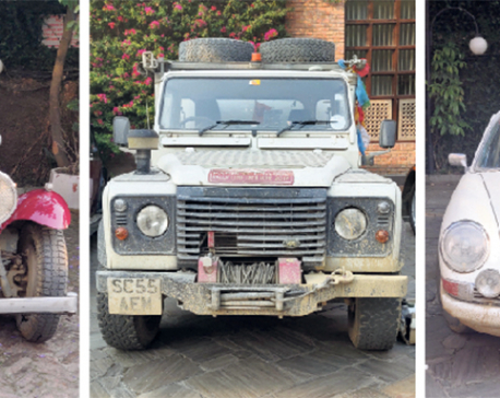 Trans-Himalayan self-drive on vintage cars