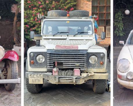 Trans-Himalayan self-drive on vintage cars