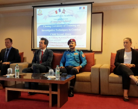 French Embassy in Nepal hosts training for Nepal Police personnel