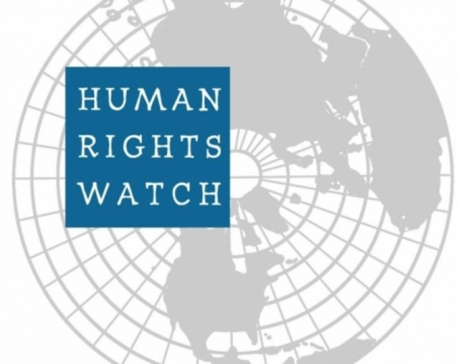 HRW urges Nepal to amend laws that undermine freedom of expression