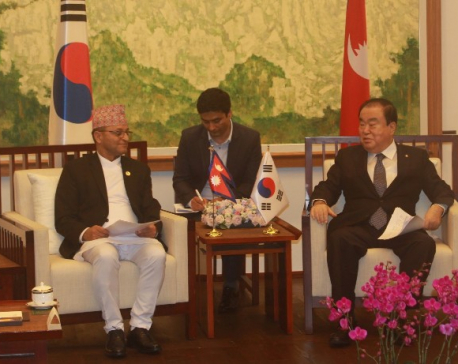 NA Chairman meets South Korean counterpart, deputy foreign minister in Seoul