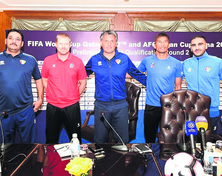 Nepal faces difficult away trip to Kuwait in first World Cup Qualifying match