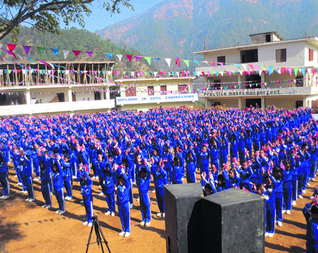 Community schools outshine private ones in Rolpa