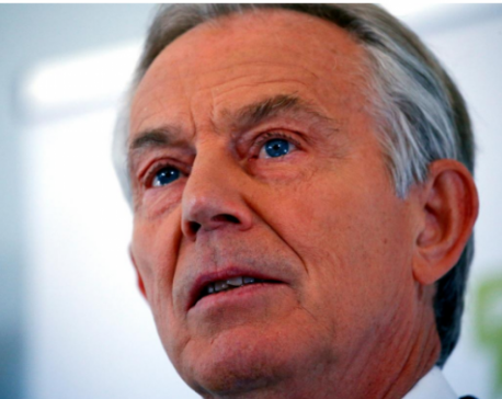 "Tony Blair warns UK Labour: Don't fall into election ""elephant trap"""