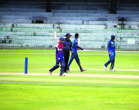 Sri Lanka defeats Nepal in rain-hit match