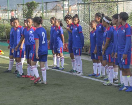 U-15 girl's team announced for SAFF Championship