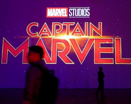 Brie Larson makes superhero debut in female-led 'Captain Marvel'