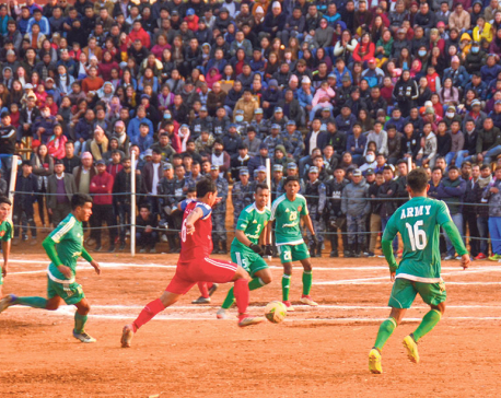 Army books final place after beating Indian team