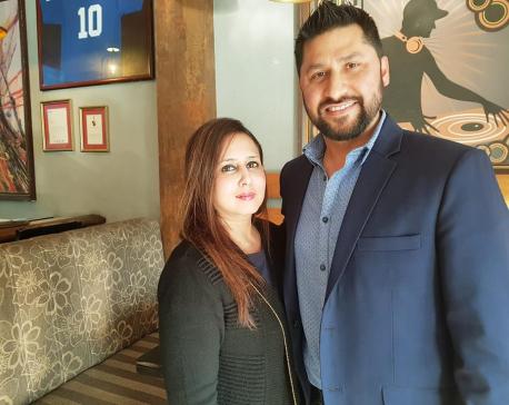 Rabi Lamichhane and Nikita Poudel get married
