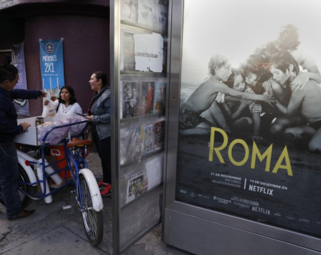 Mexico City prepares to celebrate Oscar wins for 'Roma'