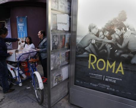 Mexico City prepares to celebrate Oscar wins for 'Roma'