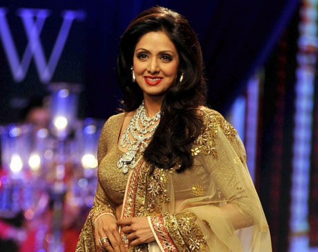 64th Filmfare Awards: Sridevi conferred with Lifetime Achievement Award