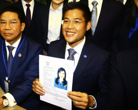 Thai party fighting for survival after gaffe with princess