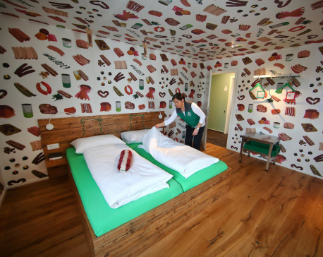 Vegetarian's Wurst nightmare? Germany's sausage hotel