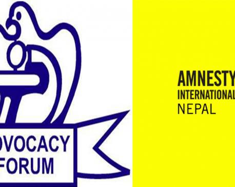 Advocacy Forum-Nepal, Amnesty International Nepal urge govt to ratify Rome Statute