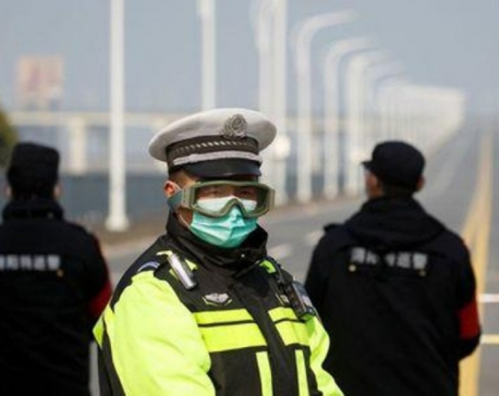 Two cruise ships ordered into quarantine as virus death toll nears 500