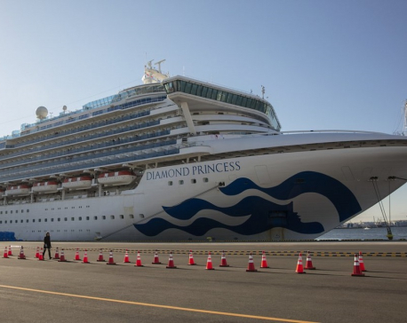 Japan confirms 39 new virus cases, 174 total on cruise ship