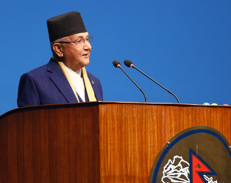 Government is moving on towards year of achievement: PM Oli